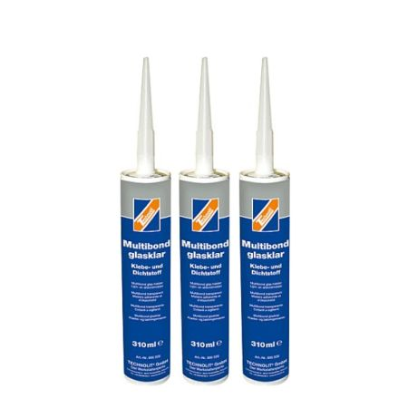310ml Montagekleber | Multibond Glasklar | Technolit