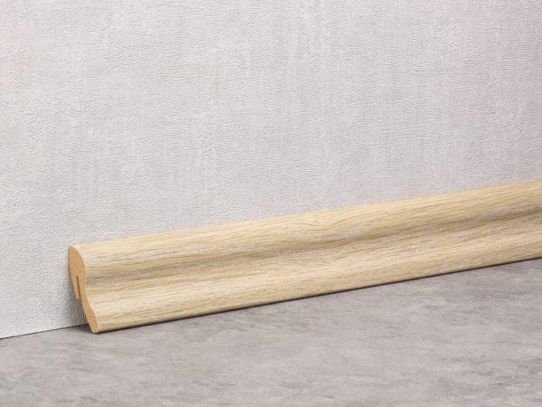 Sockelleiste 60mm Softline Eiche Kalk