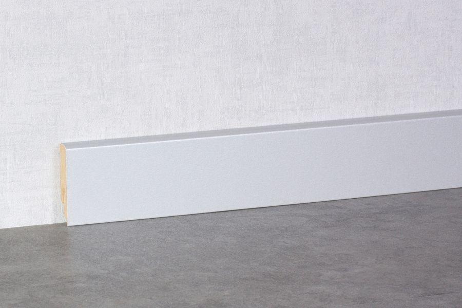 sockelleisten bodenleisten cubeleisten hamburger profil trittschalld mmung silber matt. Black Bedroom Furniture Sets. Home Design Ideas