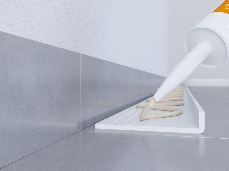 sockelleisten bodenleisten cubeleisten hamburger profil trittschalld mmung abdeckleiste. Black Bedroom Furniture Sets. Home Design Ideas